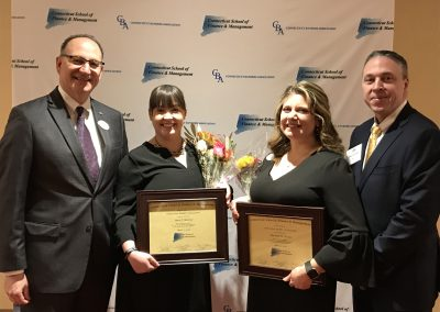 COCC employees graduated from the Connecticut Bankers Association's Connecticut School of Finance and Management.