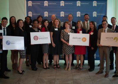COCC celebrating our Top Workplaces win.