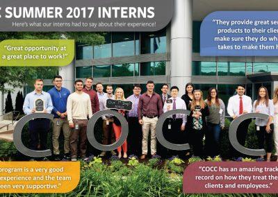 Our Summer 2017 interns