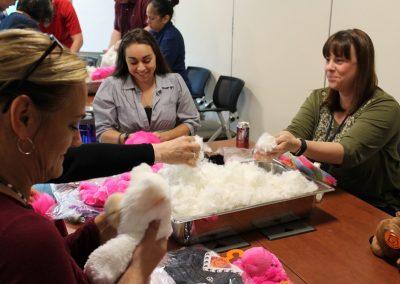 Building stuffed animals