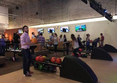 Bowling at Crystal Bees