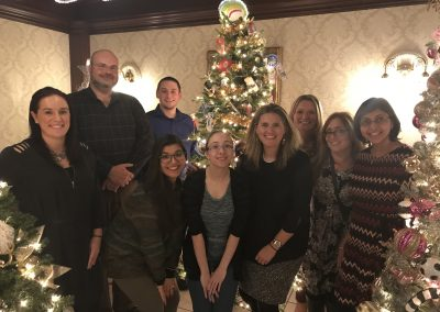 Employees attending the United Way Festival of Trees Celebration
