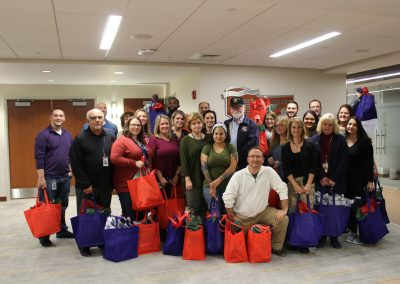 COCC employees prepare care packages for disabled veterans