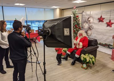 COCC hosts free onsite Breakfast with Santa event for employees